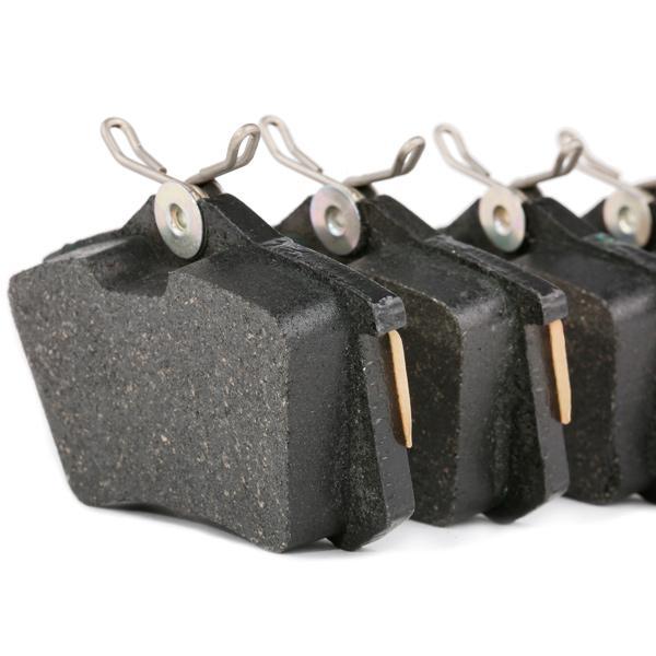 13.0460-2820.2 Zestaw klocków hamulcowych, hamulce tarczowe ATE - Tanie towary firmowe