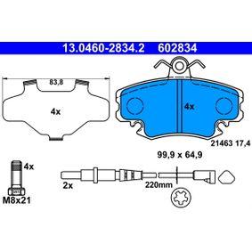 13.0460-2834.2 Bremssteine ATE in Original Qualität