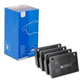 Bremseklodser 13.0460-2953.2 VOLVO 164 med en rabat — køb nu!
