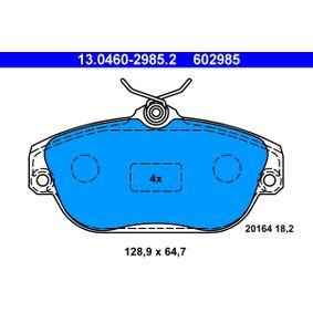 Bremžu uzliku kompl., Disku bremzes 13.0460-2985.2 par VOLVO S90 ar atlaidi — pērc tagad!