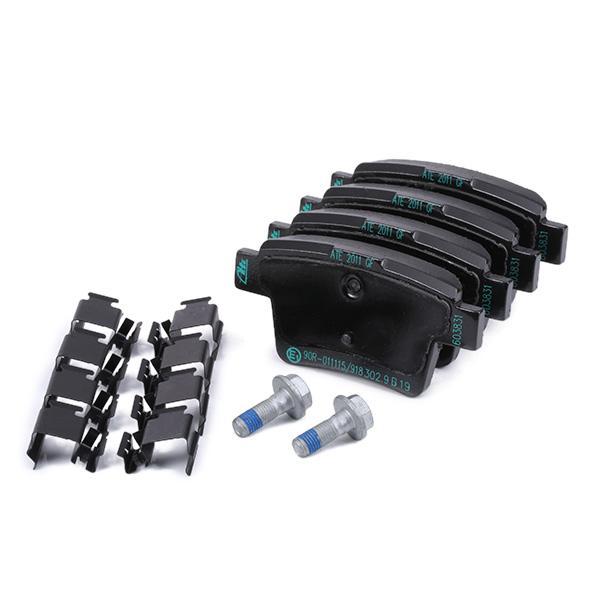 13046038312 Bremsbeläge ATE 603831 - Große Auswahl - stark reduziert
