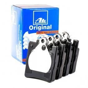 13046040652 Bremsbeläge ATE 604065 - Große Auswahl - stark reduziert