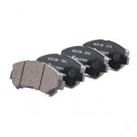 13046057522 Bremsbelagsatz, Scheibenbremse ATE 605752 - Große Auswahl - stark reduziert