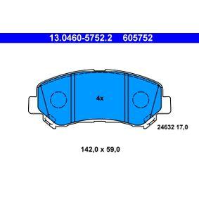 13.0460-5752.2 Bremsbelagsatz, Scheibenbremse ATE - Markenprodukte billig