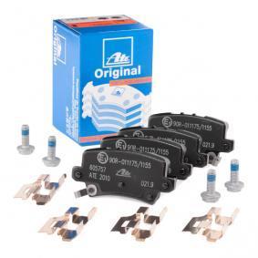 Jogo de pastilhas para travão de disco 13.0460-5757.2 para HONDA CIVIC VIII Hatchback (FN, FK) — Faça o seu negócio agora!