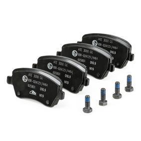 13046058012 Bremsbeläge ATE 605801 - Große Auswahl - stark reduziert