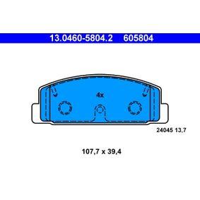 13.0460-5804.2 Bremsbelagsatz ATE - Markenprodukte billig