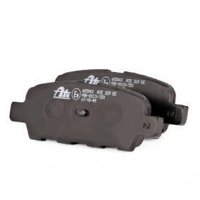 13.0460-5843.2 Bremsbelagsatz, Scheibenbremse ATE - Markenprodukte billig