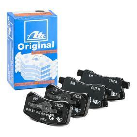 Sada brzdových platničiek kotúčovej brzdy 13.0460-5855.2 MITSUBISHI PAJERO SPORT v zľave – kupujte hneď!