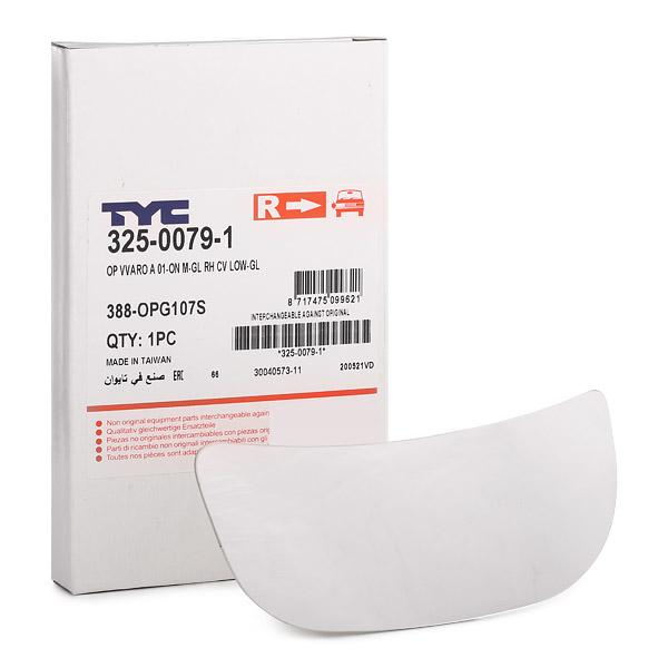 Rückspiegelglas TYC 325-0079-1
