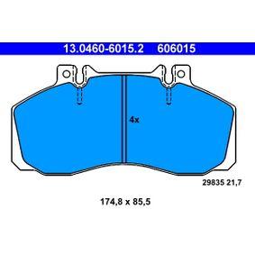 Bremseklodser 13.0460-6015.2 MERCEDES-BENZ VARIO med en rabat — køb nu!