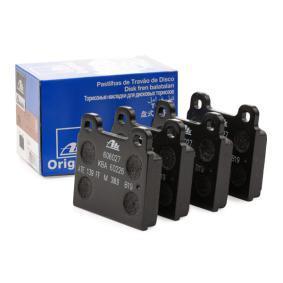 Brake Pad Set, disc brake 13.0460-6027.2 for ALFA ROMEO 1750-2000 at a discount — buy now!