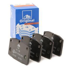 Sada brzdových platničiek kotúčovej brzdy 13.0460-7048.2 OPEL MANTA v zľave – kupujte hneď!