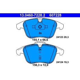 13.0460-7228.2 Bremsbelagsatz, Scheibenbremse ATE in Original Qualität