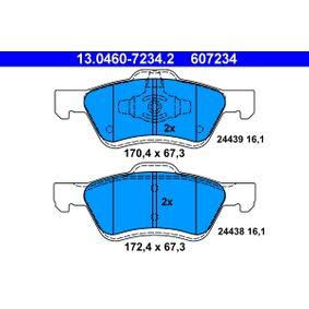Bremsbelagsatz Scheibenbremse ATE 13.0460-7235.2