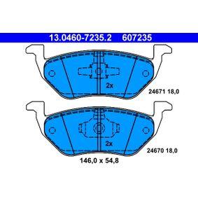 Scheibenbremse ABE C23016ABE Bremsbelagsatz