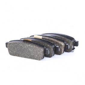 607264 ATE mit akustischer Verschleißwarnung, mit Zubehör Höhe: 42,7mm, Breite: 116,5mm, Dicke/Stärke: 17,0mm Bremsbelagsatz, Scheibenbremse 13.0460-7264.2 günstig kaufen