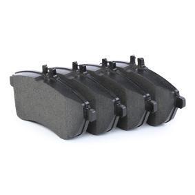 24306 ATE Ceramic für Verschleißwarnanzeiger vorbereitet, exkl. Verschleißwarnkontakt, mit Bremssattelschrauben, mit Zubehör Höhe: 71,5mm, Breite: 146,0mm, Dicke/Stärke: 20,3mm Bremsbelagsatz, Scheibenbremse 13.0470-2732.2 günstig kaufen