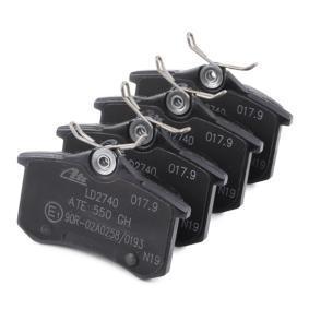 13.0470-2740.2 Bremsbelagsatz, Scheibenbremse ATE - Markenprodukte billig