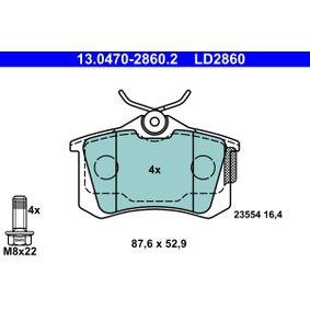 13.0470-2860.2 Bremsbelagsatz, Scheibenbremse ATE - Markenprodukte billig