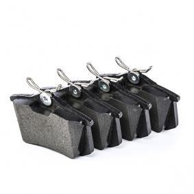 20961 ATE Ceramic exkl. Verschleißwarnkontakt, mit Bremssattelschrauben Höhe: 52,9mm, Breite: 87,6mm, Dicke/Stärke: 16,0mm Bremsbelagsatz, Scheibenbremse 13.0470-2886.2 günstig kaufen