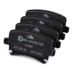 13.0470-2887.2 Bremsbelagsatz, Scheibenbremse ATE - Markenprodukte billig