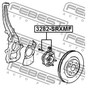 3282SRXMF Radlagersatz FEBEST 3282-SRXMF - Riesenauswahl — stark reduziert
