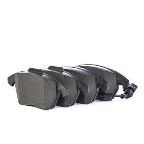 LD7184 ATE Ceramic inkl. Verschleißwarnkontakt Höhe 1: 66,0mm, Höhe 2: 71,3mm, Breite 1: 155,1mm, Breite 2: 156,3mm, Dicke/Stärke: 20,6mm Bremsbelagsatz, Scheibenbremse 13.0470-7184.2 günstig kaufen
