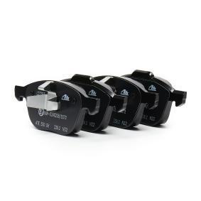 23724 ATE Ceramic no preparado para indicador de desgaste, excl. contacto de avisador de desgaste Altura 1: 62,4mm, altura 2: 67,0mm, Ancho 1: 155,1mm, Ancho 2: 156,3mm, Espesor: 18,1mm Juego de pastillas de freno 13.0470-7193.2 a buen precio