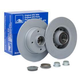 408114 ATE Voll, beschichtet, mit Lager, mit ABS-Sensorring Ø: 240,0mm, Lochanzahl: 4, Bremsscheibendicke: 8,0mm Bremsscheibe 24.0108-0114.2 günstig kaufen