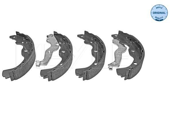 MBS0111 MEYLE Hinterachse, Ø: 220mm, mit Hebel, ohne Feder, ORIGINAL Quality Breite: 35mm Bremsbackensatz 33-14 533 0000 günstig kaufen