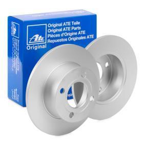 Bremžu diski 24.0110-0178.1 par AUDI 90 ar atlaidi — pērc tagad!