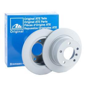 410273 ATE Voll, beschichtet, hochgekohlt, mit Schrauben Ø: 272,0mm, Lochanzahl: 5, Bremsscheibendicke: 10,0mm Bremsscheibe 24.0110-0273.1 günstig kaufen