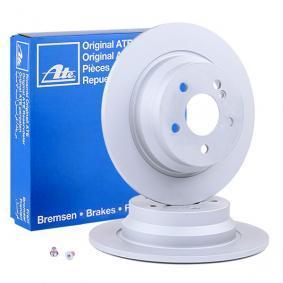 410278 ATE Voll, beschichtet, mit Schrauben Ø: 300,0mm, Lochanzahl: 5, Bremsscheibendicke: 10,0mm Bremsscheibe 24.0110-0278.1 günstig kaufen