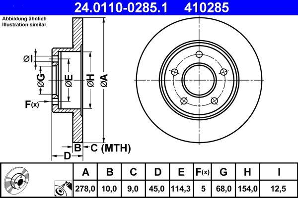 Спирачен диск ATE 24.0110-0285.1 Отзиви