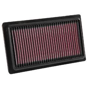 33-3052 K&N Filters Langzeitfilter Länge: 250mm, Breite: 148mm, Höhe: 27mm Luftfilter 33-3052 günstig kaufen