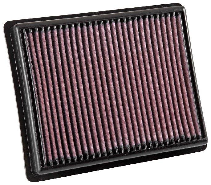 Achetez Filtre à air K&N Filters 33-3054 (Longueur: 257mm, Longueur: 257mm, Largeur: 210mm, Hauteur: 38mm) à un rapport qualité-prix exceptionnel