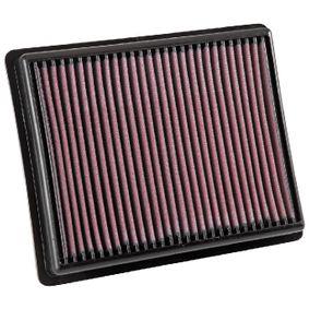 33-3054 K&N Filters Langzeitfilter Länge: 257mm, Breite: 210mm, Höhe: 38mm Luftfilter 33-3054 günstig kaufen