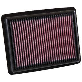 33-3058 K&N Filters Langzeitfilter Länge: 240mm, Breite: 191mm, Höhe: 30mm Luftfilter 33-3058 günstig kaufen