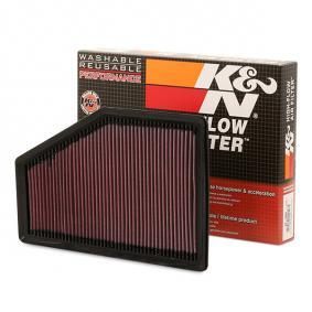 33-5049 K&N Filters Long-life Filter Length: 348mm, Width: 230mm, Height: 26mm Air Filter 33-5049 cheap