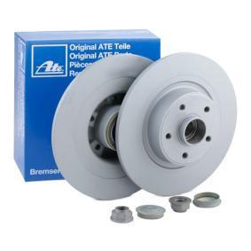 411100 ATE Voll, beschichtet, mit Lager, mit ABS-Sensorring Ø: 300,0mm, Lochanzahl: 5, Bremsscheibendicke: 11,0mm Bremsscheibe 24.0111-0100.2 günstig kaufen
