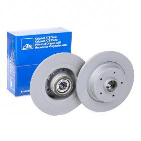 411101 ATE Voll, beschichtet, mit Lager, mit ABS-Sensorring Ø: 274,0mm, Lochanzahl: 5, Bremsscheibendicke: 10,9mm Bremsscheibe 24.0111-0101.2 günstig kaufen