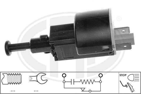 ERA: Original Bremslichtschalter 330081 (Anschlussanzahl: 2)