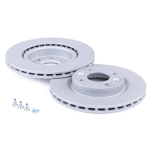 24012101061 Stabdžių diskas ATE 24.0121-0106.1 Platus pasirinkimas — didelės nuolaidos