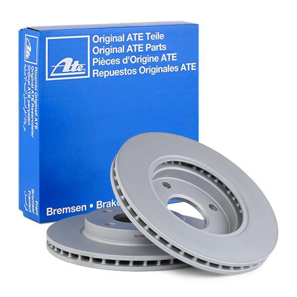 24012201721 Спирачен диск ATE 24.0122-0172.1 - Голям избор — голямо намалание