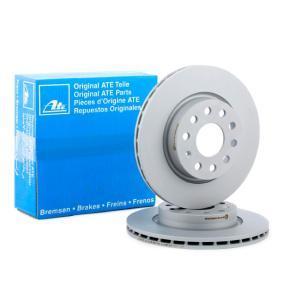 422210 ATE ventilado, revestido, altamente carbonizado, con tornillos Ø: 280,0mm, Núm. orificios: 5, Espesor disco freno: 22,0mm Disco de freno 24.0122-0210.1 a buen precio