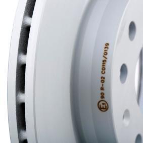 24012202101 Discos de Freno ATE 24.0122-0210.1 - Gran selección — precio rebajado