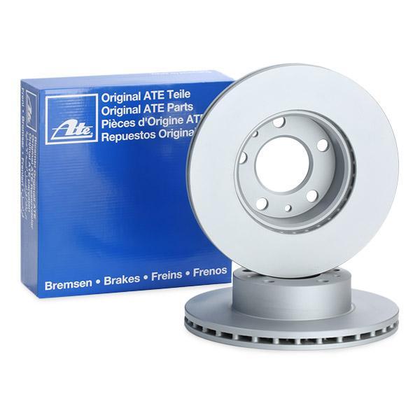 2 Bremsscheibe ATE 24.0124-0132.1 passend für FORD