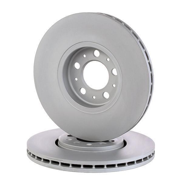 ATE 24.0125-0113.1 (Ø: 288,0mm, Nbre de trous: 5, Épaisseur du disque de frein: 25,0mm) : Disques de frein VW Polo 9n Berline 2005