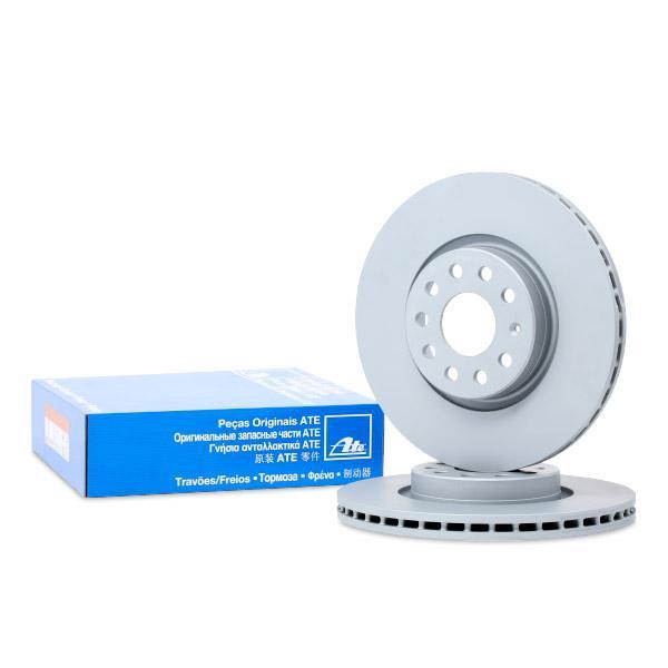 24012501581 Bremsscheiben ATE 24.0125-0158.1 - Original direkt kaufen